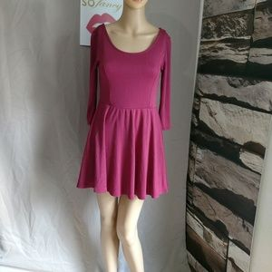 Divided by H&M size 4 dress with long sleeves